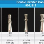 Double Inverted Cone DIA Burs