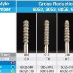 Gross Reduction DIA Burs