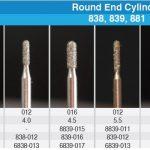 Round End Cylinder DIA Burs